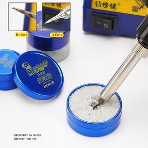 Image 2 - MECHANIC Soldering Tip Refresher Clean Paste for Oxide Solder Iron Tip Head Resurrection Cream Soldering Accessory