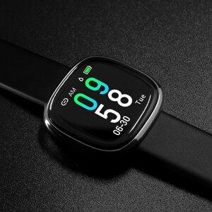 Image 5 - Nieuwe Screen Activiteit Tracker Waterdicht Smart Armband Bloeddruk Stappenteller Smart Polsband Hartslagmeter Mens Vrouwen