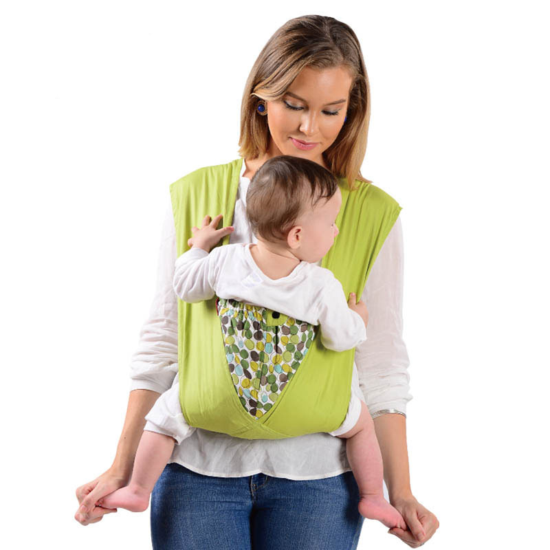 beb0bbd7adc Vrbabies Best Organic Baby Carrier Cozy Cotton Baby Wrap X-type Newborn  Baby Sling Portabebe Kanguru Baby Carrier