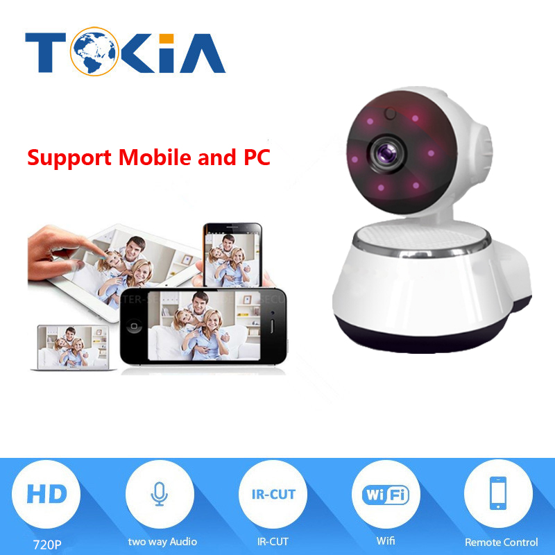 720P HD WIFI Pan/Tite Home Camera,SD card record,mobile phone remote,your home is on your phone america on record