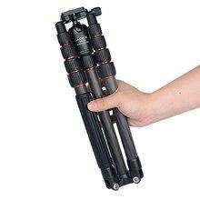 AOKA KN225C max laden 11kgs gebogen leichte compact travel kamera kohlefaser professionelle stativ