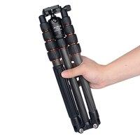 AOKA KN225C max loading 11kgs reflexed lightweight compact travel camera carbon fiber professional tripod