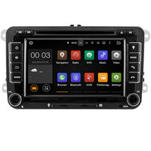 Quad Core 2 din Android 5.1 Car DVD player for VW Volkswagen GOLF 5 Golf 6 POLO PASSAT SKODA CC JETTA TIGUAN TOURAN GPS 1024×600