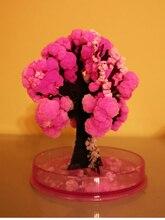 90mm Pink Desktop Cherry Blossom Cool ThumbsUp Magic Japanese Sakura Tree Brand Newly Made in Japan Growing Paper Trees Kids Toy