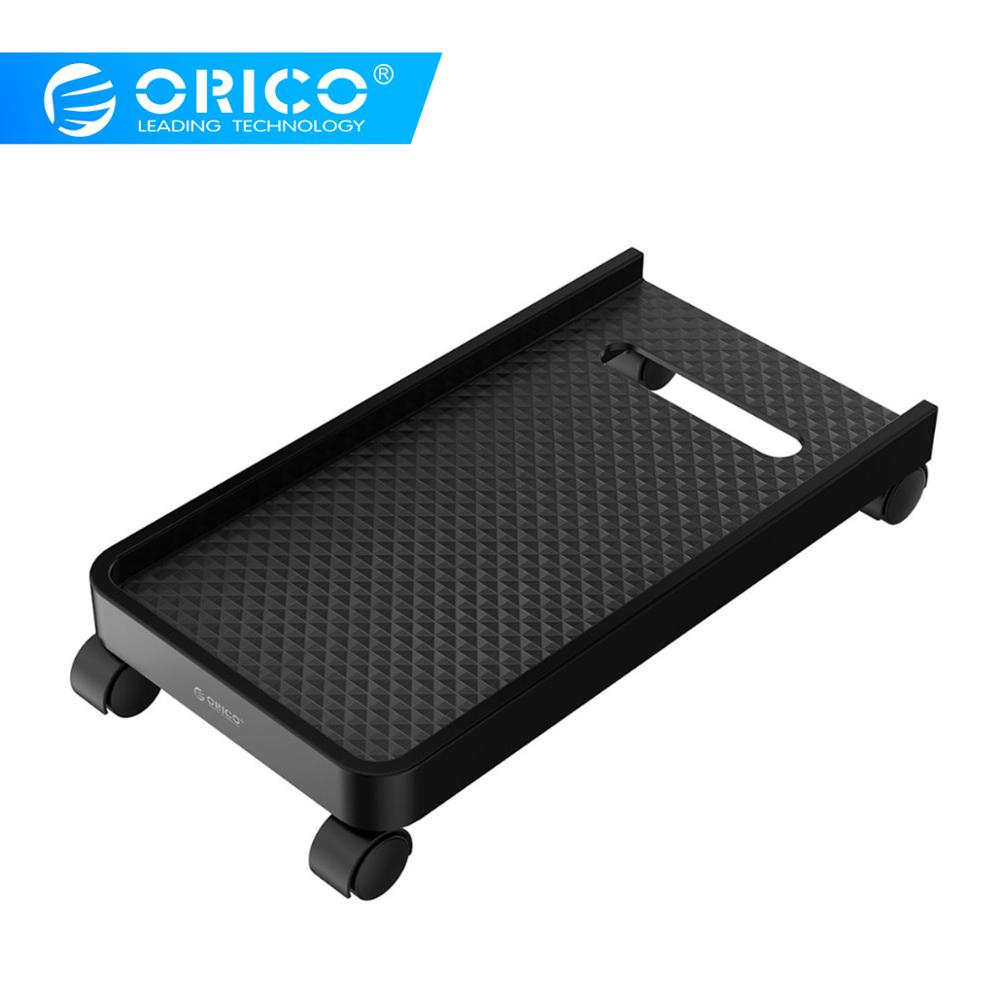 ORICO Computer Host Bracket Computer CPU Stand with Wheels Stable Vertical For Computer Cases PC Towers Waterproof CPU Stand
