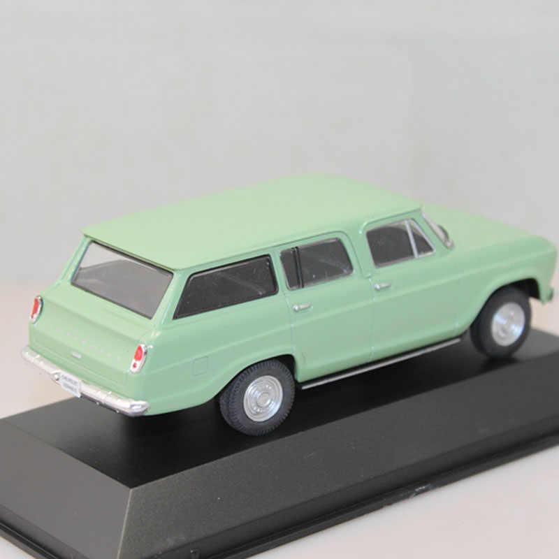 IXO 1:43 Chevrolet Veraneio 1965 Металл литая игрушка модели автомобилей Рождественский подарок светло зеленый