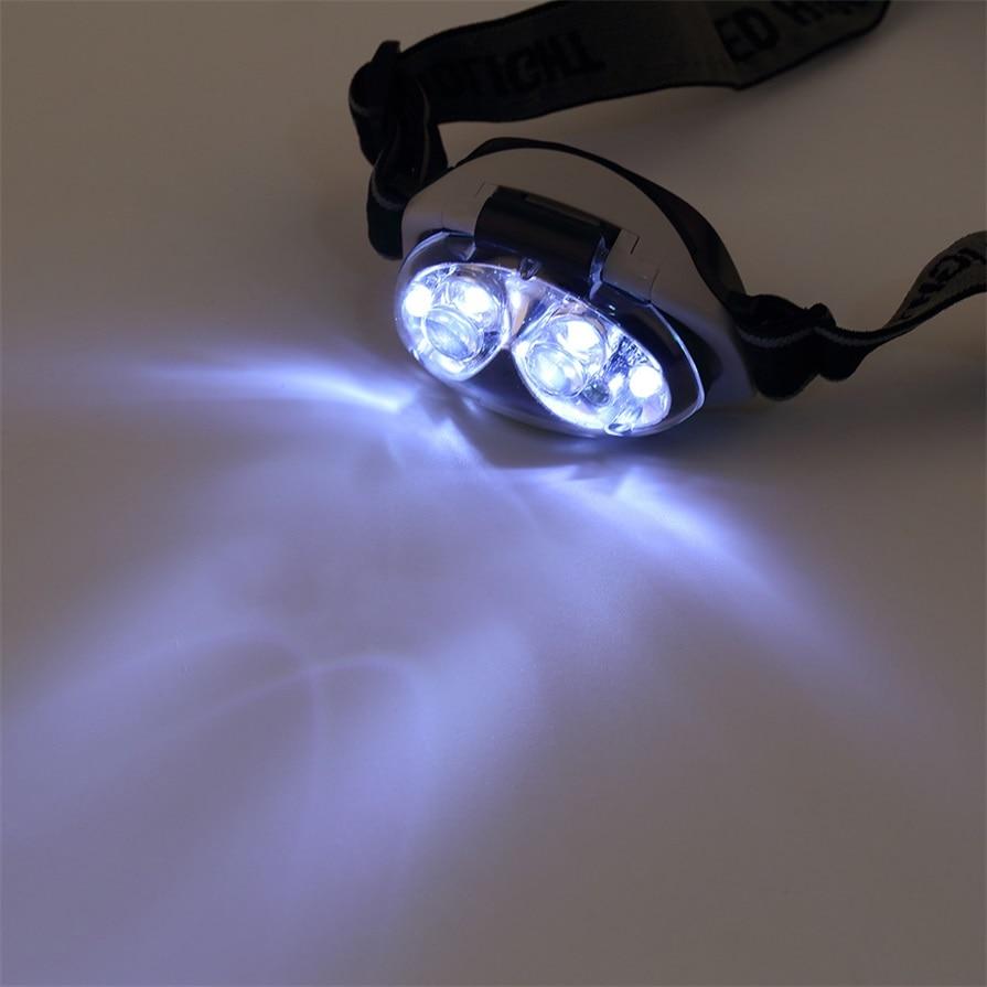 ICOCO Ultra Bright 6 LED Head Lamp Light Torch Headlamp Headlight 3 Modes New Arrival
