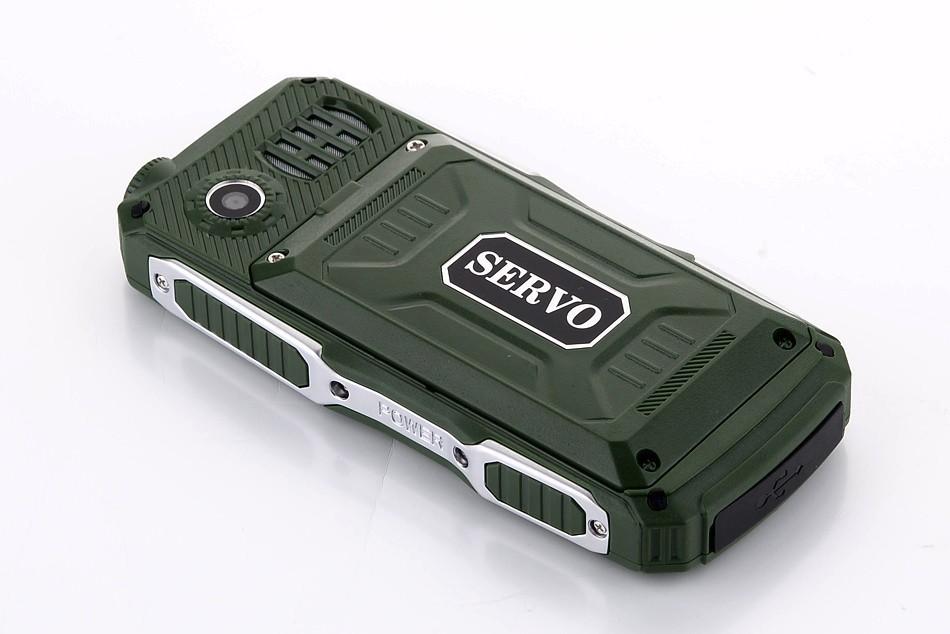 Ударопрочный телефон Servo V3 на 4 симки