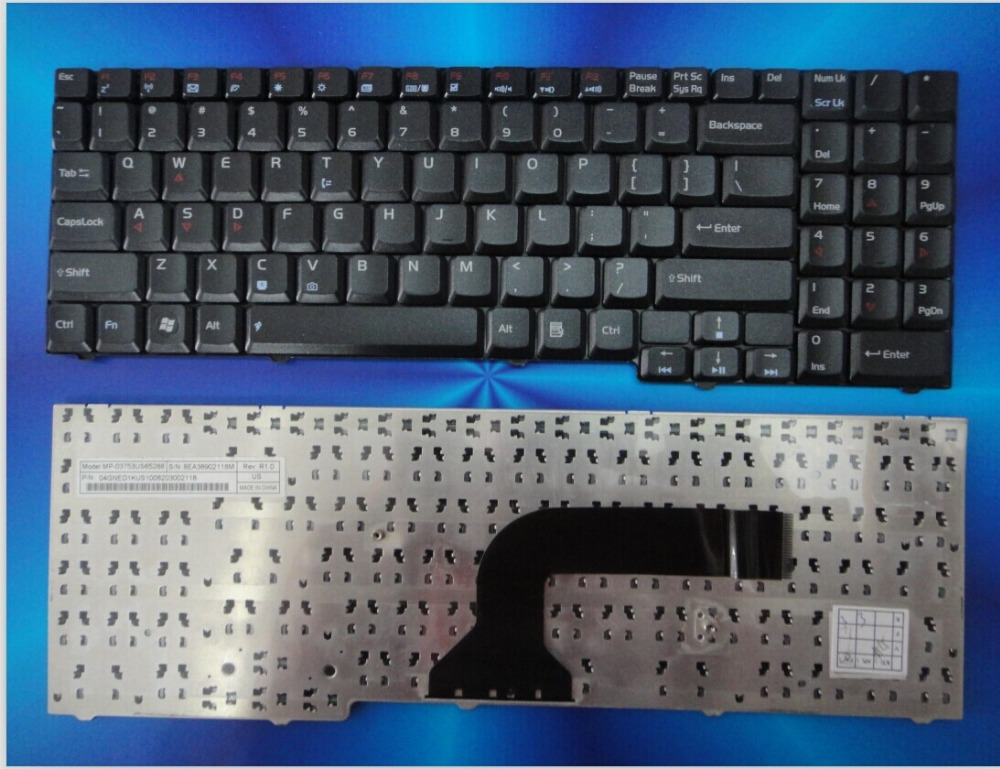 New font b notebook b font laptop keyboard for ASUS G50 G71 M50V M50 X57 M70