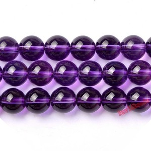 """Free Shipping Wholesale 15"""" 4/6/8/10/12mm Natural Crystal Amethysts Dreamy purple quartz round ball Loose Beads jewelry making(China)"""