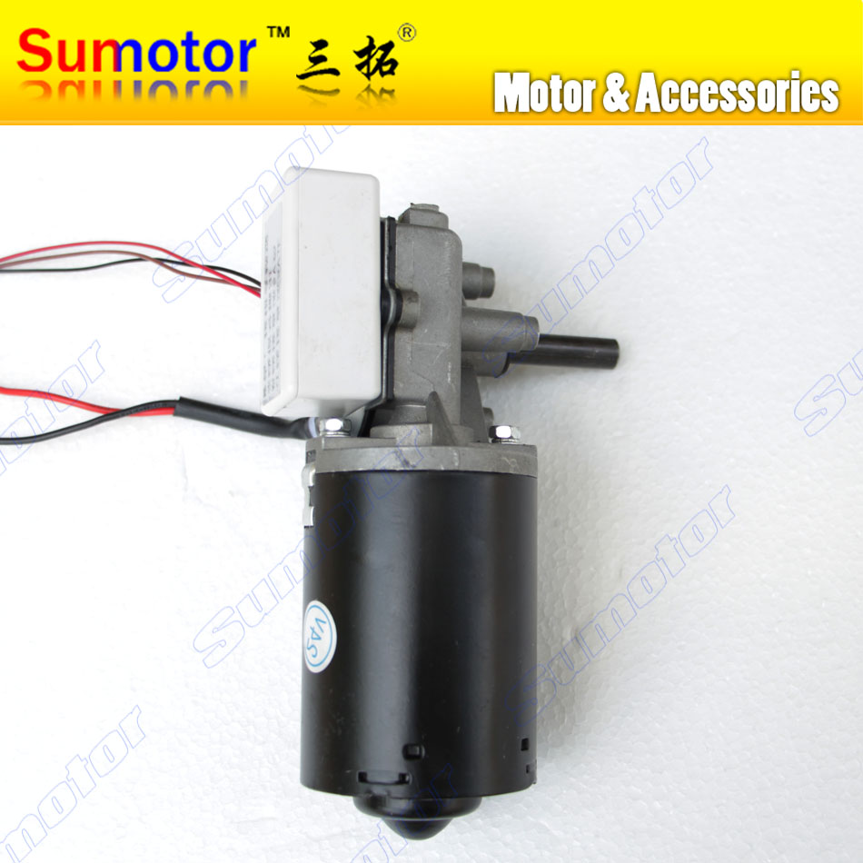GW6280 DC 24V 30 50 100 rpm Worm Gear Motor Right version Self-locking Garage door replacement with Hoare encoder Hall sensorGW6280 DC 24V 30 50 100 rpm Worm Gear Motor Right version Self-locking Garage door replacement with Hoare encoder Hall sensor