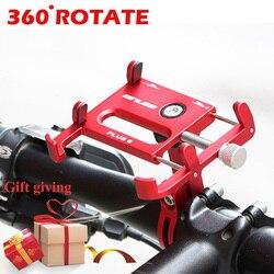 Gub plus 6 plus 3 360 rotativa mtb bicicleta titular do telefone da motocicleta suporte gps montagem para guiador da bicicleta do telefone móvel stents