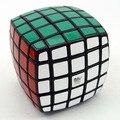 Qj apoyada 5 x 5 x 5 Cubo mágico Puzzle blanco y negro de aprendizaje y juguetes educativos Cubo juguetes Speeding Cubo