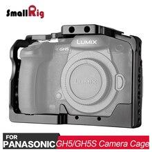 Клетка для камеры SmallRig DSLR для Panasonic Lumix GH5/GH5S с креплением для холодного башмака Nato Rail 2049