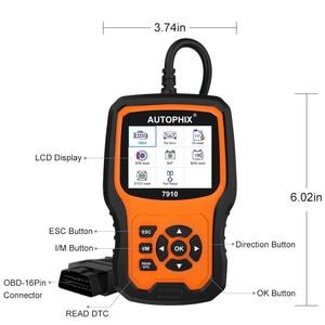 Image 5 - Autophix 7910 Professional OBD2 Automotive Scanner For E46 E90 E60 E39 DPF TPMS SAS Oil Reset Full System OBDII Diagnostic Tool