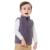 Esbelto marca outono inverno crianças meninos meninas lining pele fleece colete Cor de Doces Zipper Sólidos Unisex Colete Dentro De Peles Crianças colete