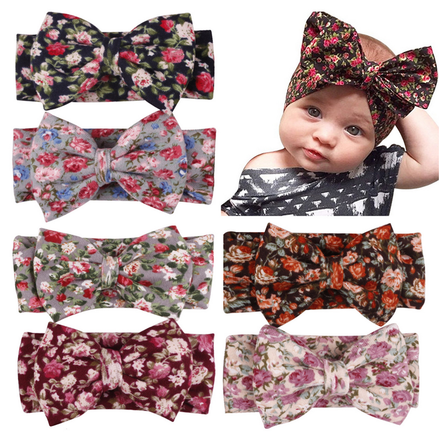 2019 New Style Baby Headband For Women Green Hair Accessories Para El Pelo White Cotton Baby Girl Headbands Flower Elastic Hair Bands 2018 New Promote The Production Of Body Fluid And Saliva