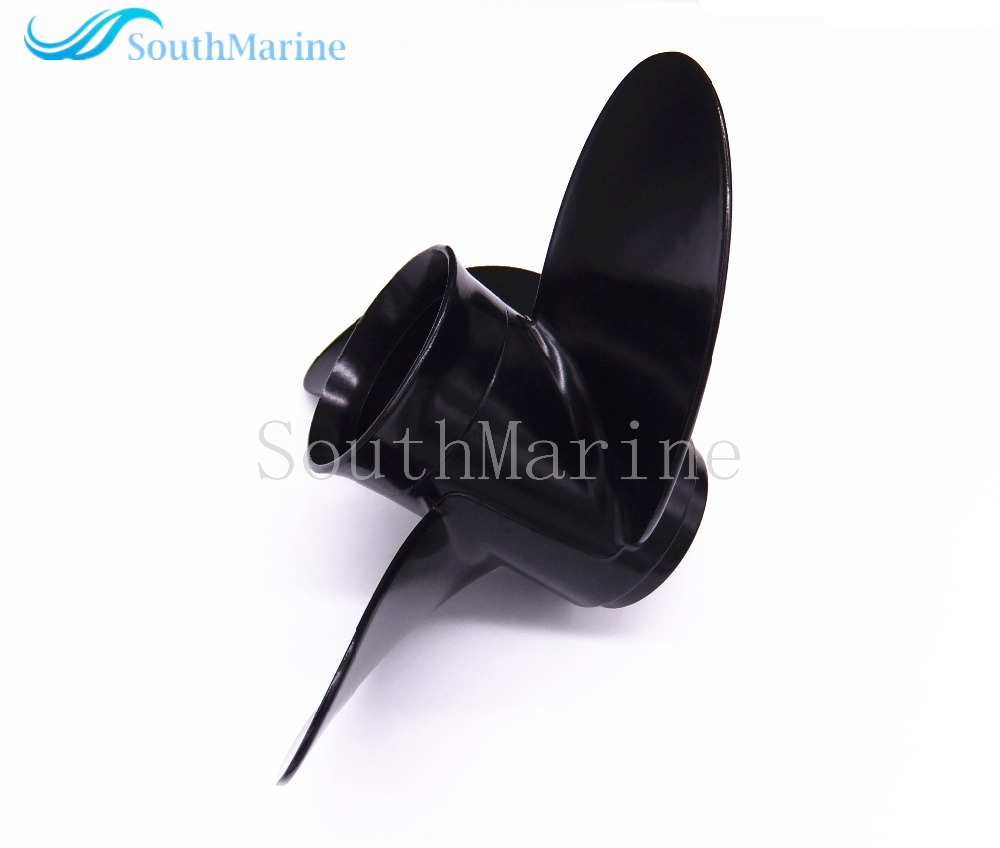 Aluminum Propeller 8.5x9 For Tohatsu / Nissan 2-Stroke 4-Stroke 8HP 9.8HP Outboard Motor 8.5 X 9 , Pitch 12 Spine ,Free Shipping