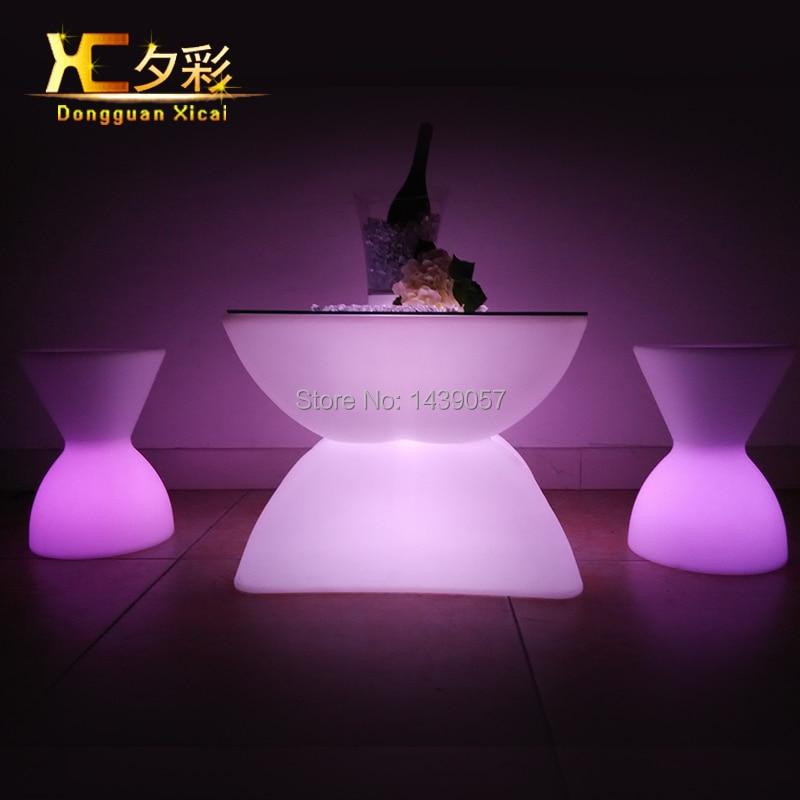 aliexpress : buy led light up bar table glowing night club