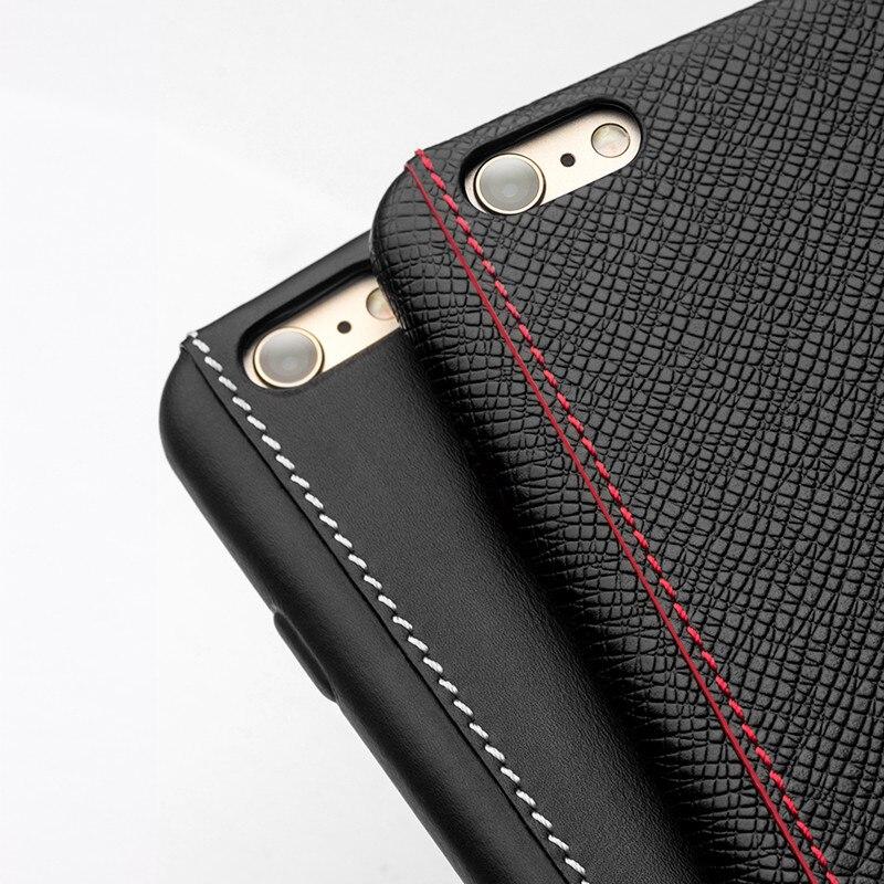 2016 QIALINO Väska för iphone 6 4.7 / 5.5 Lyxig kalvhud äkta - Reservdelar och tillbehör för mobiltelefoner - Foto 6