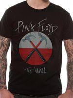 Новинка Дизайн Для мужчин Pink Floyd молотки Логотип Символ Для мужчин s футболка лицензированный Топ черный XL с принтами футболки Для мужчин; ул...