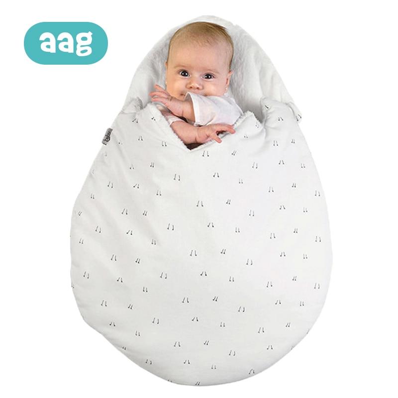 AAG Baby Sleeping Bag Egg Cocoon Newborn Sleepsacks Zipper Sleeping Wrap For Stroller Baby Slumber Bags Bedding Accessories *
