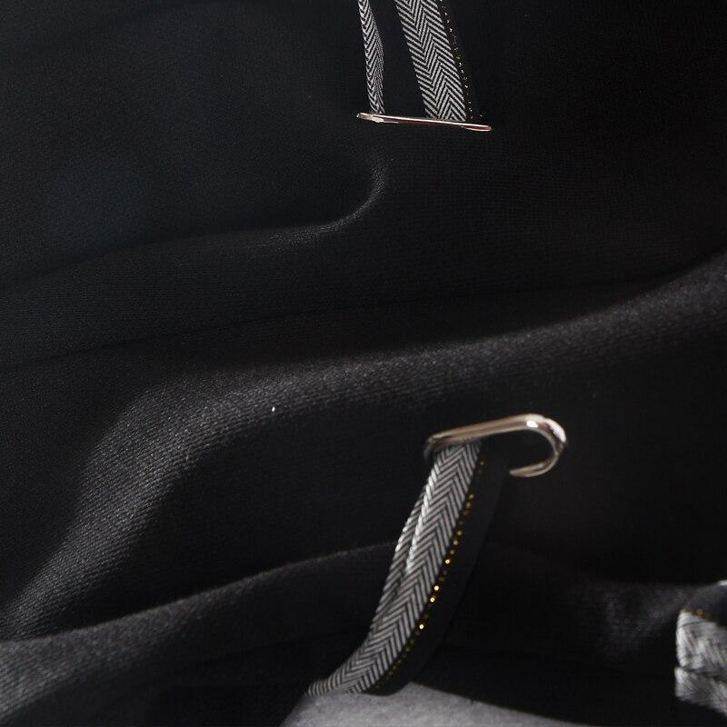 Appliques Rayé Samgpilee ligne O longueur Pleine Mode cou Casual Femmes Hiver Black 2018 Genou Nouvelle Arrivée Robe Manches Naturel A xqwnYqzCBE