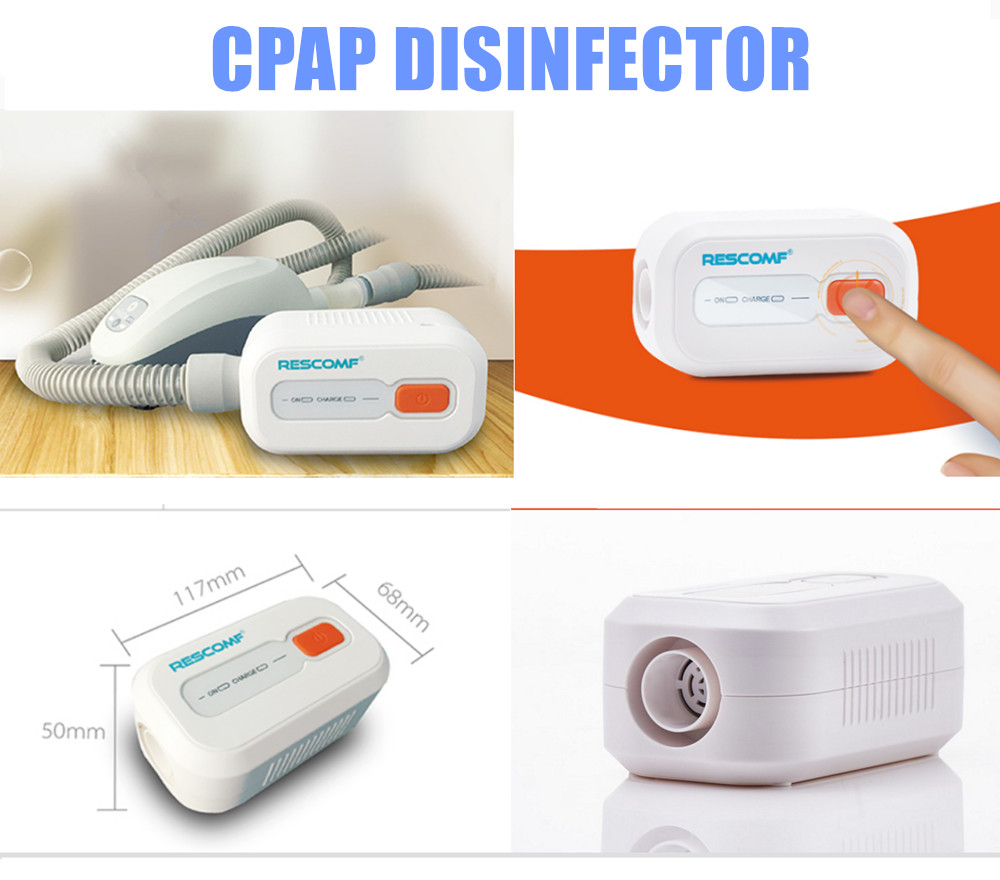 Lithium Battery CPAP Sanitizer Sterilizer CPAP APAP Auto CPAP Disinfector Respirator Cleaner Sleep Apnea OSAHS OSAS Anti Snoring doctodd gii bpap t 20s cpap machine w free mask humidifier and spo2 kit respirator for apnea copd osahs osas snoring people