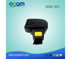 OCBS-R01: Mini Portable Bluetooth Ring Barcode Scanner