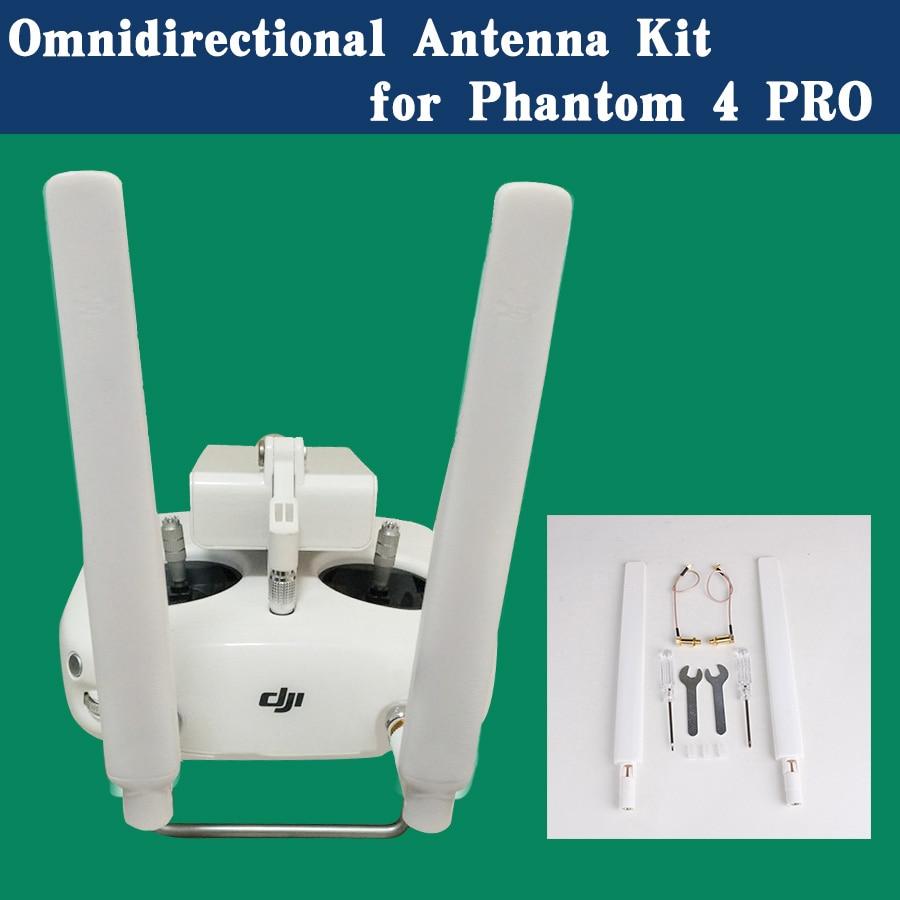 Remote Controller Omni-Directional Antenna Refitting Combo Long Range Antenna Signal Booster Range Extenderfor DJI Phantom 4 PRo