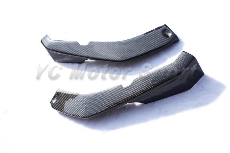 2009-2013 Maserati GranTurismo Sport GTS MC-Sport-Line Style Front Bumper Lip Spliter Dry Carbon (7)