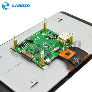Image 5 - מקורי רשמי פטל Pi 7 אינץ TFT LCD מגע מסך מגן צג תצוגת 800*480 סטנדר ערכת