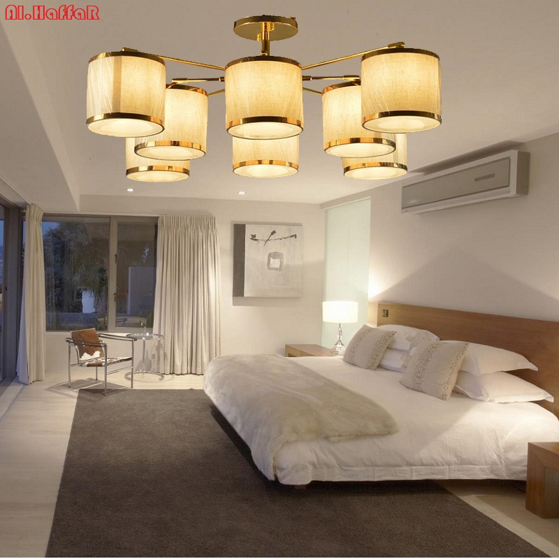 Modern LED Ceiling Chandelier Lighting Living Room Bedroom Chandeliers Creative Home Lighting Fixtures AC110V/220V Free Shipping new luxury modern crystal chandeliers led living room chandelier lighting fixtures gold plated hanging lights with glass shade