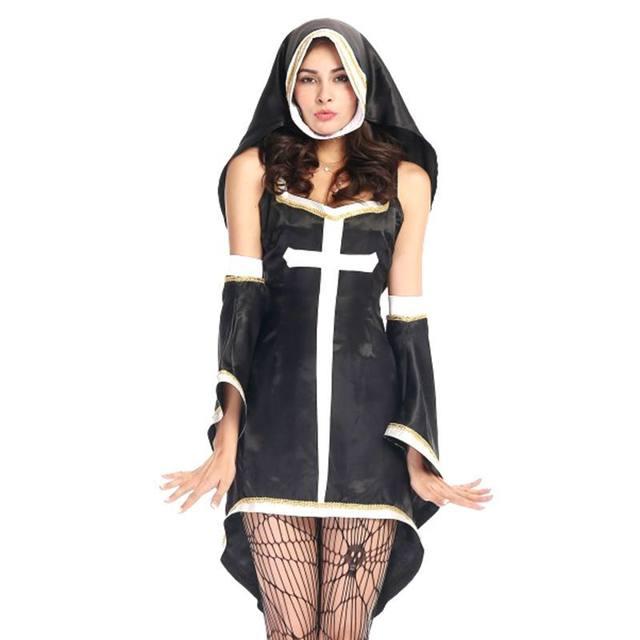 Tienda Online Nun disfraces de halloween de Las Mujeres disfraces ...