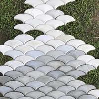 Геометрический дизайн бетонные стены кирпич силиконовые формы цемент пол плитка плесень украшения сада напольная плитка плесень
