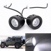 2 sztuk 10 W Led-oświetlenie robocze 12 V Samochodów Auto SUV ATV 4WD AWD 4X4 Offroad Jazdy Światła Przeciwmgielne Okrągłe Ciężarówka Motocykl Bike Reflektorów Worklig