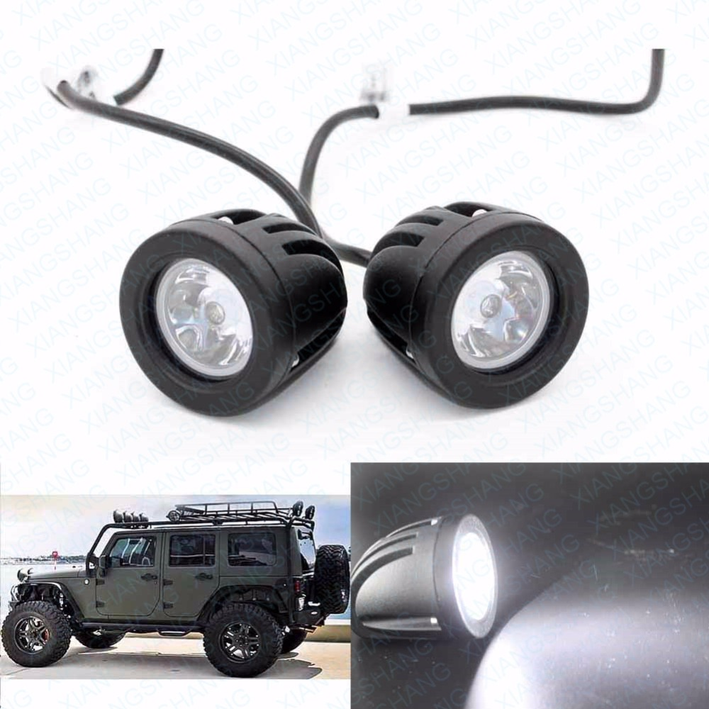2pcs 10W LED Work Light 12V  Car Auto SUV ATV 4WD AWD 4X4 Offroad Driving Fog Lamp Round Motorcycle Truck Bike Headlight Worklig 10w led work light 2 inch 12v 24v car auto suv atv 4wd awd 4x4 off road led driving lamp motorcycle truck headlight