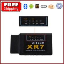 Universal OBD V2.1 ELM327 OBD2 Bluetooth Auto Scanner OBDII 2 Car ELM 327 Tester Diagnostic Tool for Android Windows Symbian