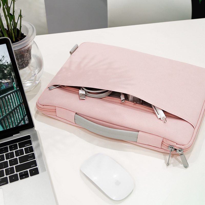 Portable Waterproof 13.3 <font><b>inch</b></font> <font><b>Laptop</b></font> HandBag Notebook Sleeve <font><b>Bag</b></font> Case For Macbook Air Pro 11 12 13 Retina HP Asus Dell Acer image