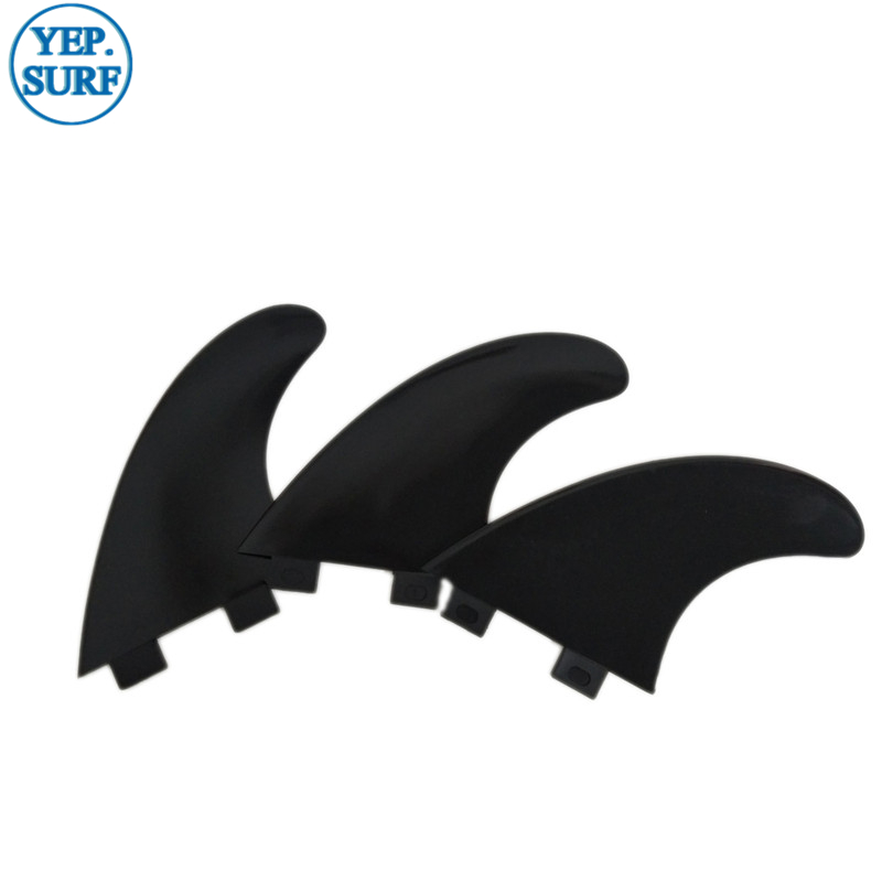 Surfing Plastic Soft FCS Fins FCS G5 Black Fin in Surfing from Sports Entertainment