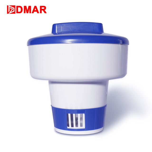 DMAR Floating Chlorine Chemical Dispenser for Swiming Pool 3 Sizes Automatic Drug Box Dosing Device Pool Accessories