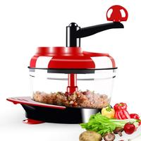 Vahome Multi function Kitchen Food Chopper Household Vegetable Slicer Meat Grinder Fruits Cutter Hand Cutting Garlic Presses