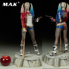 For Collection Full Set Action Figure Model 19 inches Female Clown Suicide Squad Harley Quinn Boxed Model for Fans Holiday Gifts