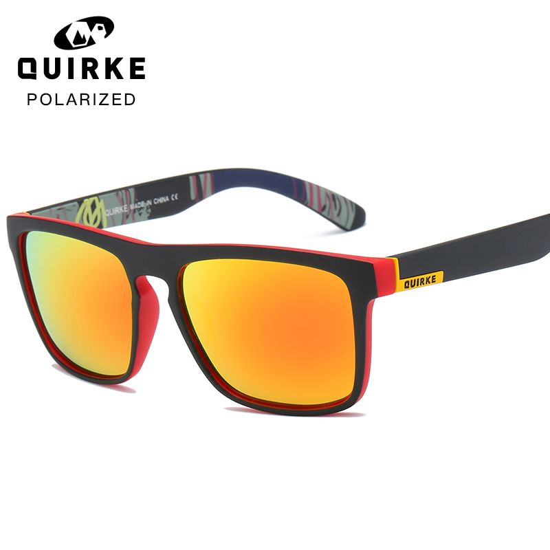 QUIRKE Polarized Sunglasses Square Oculos Driving Glasses Men Women Unisex Sports Luxury Brand Google UV400 With Brand Box Goggles Home, Pets and Appliances Men's Goggles af7ef0993b8f1511543b19: Black|Blue|Burgundy|Clear|Green|Pink|Red