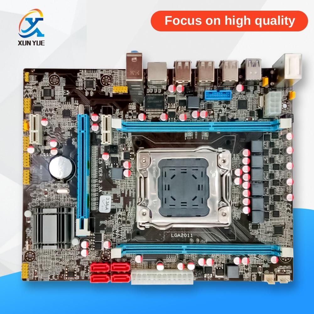 100% OEM New X79 E5 3.3A Desktop Motherboard X79 LGA 2011 For I7 E5-V1 E5-V2 DDR3/ECC 32G USB3.0 All-Solid MATX On Sale