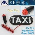 Táxi LEVOU Luz DC 12 V lâmpada indicadora de Carro Estacionamento Fonte de luz Super LED branco Luzes de Trabalho Atacado Frete Grátis AJ