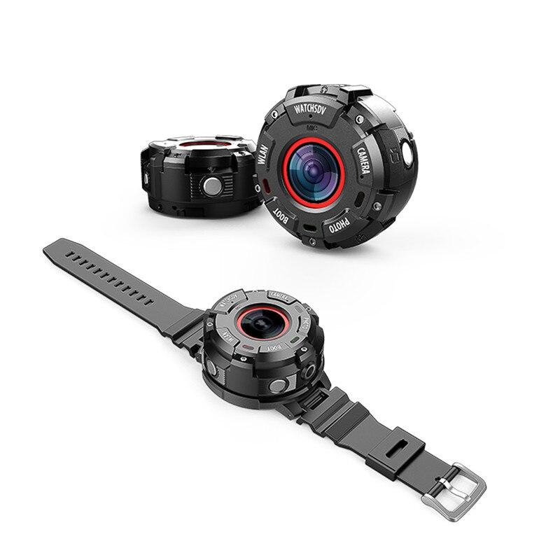 Nouveau étanche natation plongée Sports DV Bracelet de montre WiFi App caméra d'action 1080 P Bracelet caméscope enregistreur vidéo vélo voiture DVR
