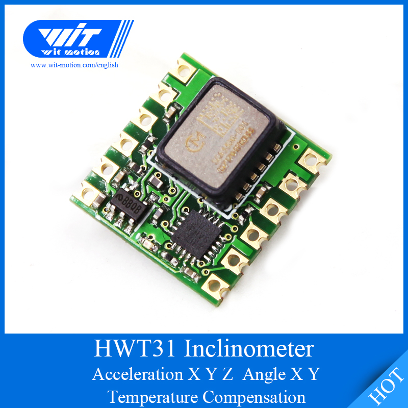 WitMotion HWT31 High Precision 2 Axis Digital Tilt Angle Roll Pitch 3 Axis Accelerometer SCA3300 Module