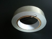1x 40mm 20 Meters Silver Single Sided Conductive Fabric Cloth Adhesive Tape Laptop Notebook Components EMI