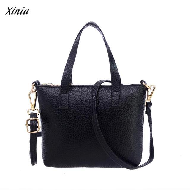b3ab4a4697eb xiniu Women Fashion Shoulder Bag Tote Ladies Purse bags for women 2018  bolsa feminina Backpacks Womens mujer sac a dos femme